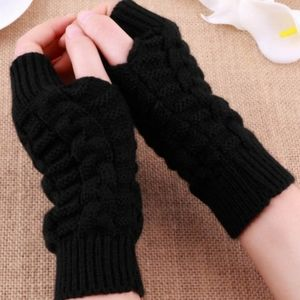 Fingerless Winter Gloves